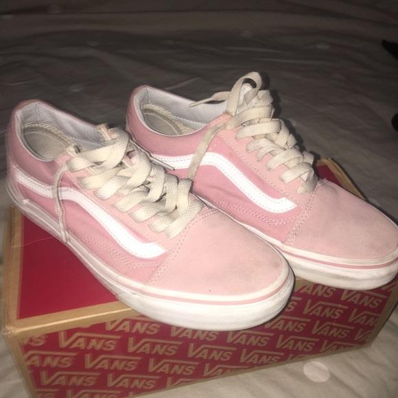 Vans Shoes | Old Skool Pink Vans | Poshmark